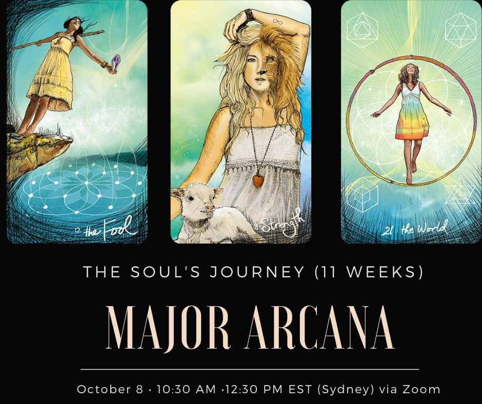 major arcana cards